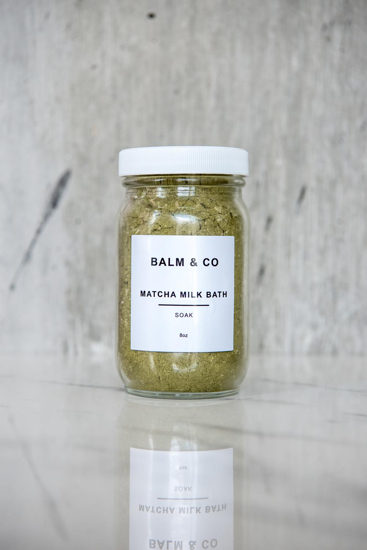 MATCHA MILK BATH BALM & CO